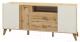 Тумба Мебель-Неман Сканди МН-036-04 (дуб вотан/белый) -