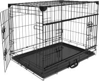 Клетка для животных Duvo Plus Pet Kennel Ninja X-Small 11638/DV (черный) -