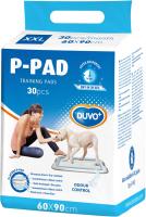 Одноразовая пеленка для животных Duvo Plus 60x90 / 11667/DV (30шт) -
