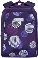 Школьный рюкзак Grizzly RG-066-2 (фиолетовый) -