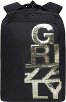 Рюкзак Grizzly RD-044-3 (черный/золото) -