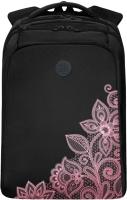 Рюкзак Grizzly RD-044-4 (черный/розовый) -