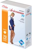 Колготки компрессионные Aries Avicenum 70 для беременных с закрытым носком / 9999 (XL) -