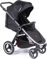 Детская прогулочная коляска Coletto Joggy 2020 (Silver/Black) -