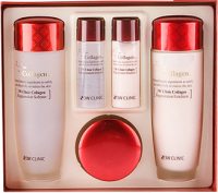 Набор косметики для лица 3W Clinic Collagen Skin Care 3 Items Set (150мл+150мл+50мл+30мл+30мл) -
