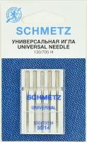 Иглы для швейной машины Schmetz 130/705Н универсальные №90 VDS (5шт) -