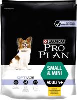 Корм для собак Pro Plan Adult Small & Mini Opti Age с курицей и рисом (700г) -