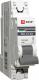 Выключатель автоматический EKF ВА 47-63 1P 10А (C) 4.5kA PROxima / mcb4763-1-10C-pro -