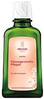 Косметическое масло для мам Weleda Для профилактики растяжек (100мл) -