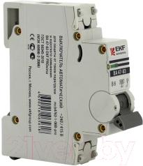 Выключатель автоматический EKF ВА 47-63 1P 3А (C) 4.5kA PROxima