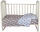 Комплект постельный в кроватку Alis Спокойной ночи 3 / 1066 (бежевые пряники) -