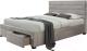 Двуспальная кровать Halmar Kayleon 160x200 (бежевый) -