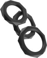 Набор эрекционных колец Pipedream C-Ringz Silicone Designer Stamina Set / 138627 -