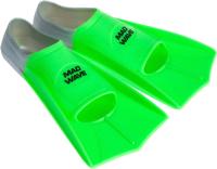 Ласты Mad Wave Fins Training 43-44 (зеленый) -