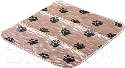 Многоразовая пеленка для животных DELIGHT 5353M-BE (53x53, бежевый)