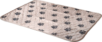 Многоразовая пеленка для животных DELIGHT 6580M-BE (65x80, бежевый) -