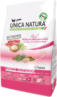 Корм для кошек Gheda Petfood Unica Natura Outdoor ветчина, рис, бобы (350г) -