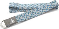 Ремень для йоги Reebok RAYG-10026 (изумрудный/серый) -