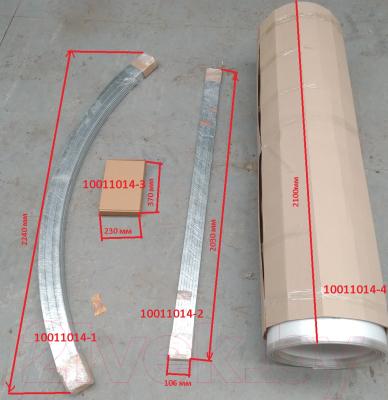 Секция для теплицы КомфортПром 4x2м(1) / 10011014 с поликарбонатом