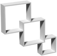 Полка-ячейка Domax FIS 1 / 67311 (белый) -