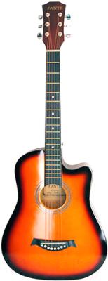 Акустическая гитара Fante FT-D38-3TS