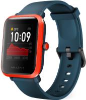 Умные часы Amazfit Bip S / A1821 (красно-оранжевый) -