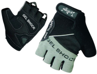 Перчатки для пауэрлифтинга Indigo SB-16-1576 (XL, серый/черный) -
