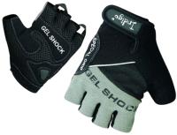 Перчатки для пауэрлифтинга Indigo SB-16-1576 (XXL, серый/черный) -