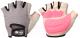 Перчатки для пауэрлифтинга Indigo 97870 (XL, серый/розовый) -