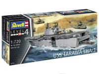 Сборная модель Revell Десантный корабль USS Tarawa LHA-1 / 5170 -