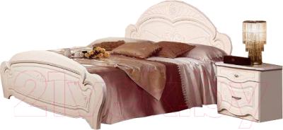 Двуспальная кровать ФорестДекоГрупп Луиза 180x200