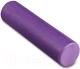 Валик для фитнеса массажный Indigo Foam Roll / IN022 (фиолетовый) -