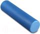 Валик для фитнеса массажный Indigo Foam Roll / IN022 (синий) -