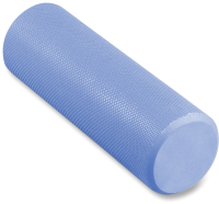 Валик для фитнеса массажный Indigo Foam Roll / IN021 (голубой) -