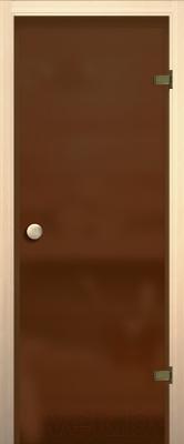 Стеклянная дверь для бани/сауны Акма 69x189 R