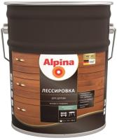 Защитно-декоративный состав Alpina Лессировка (10л, махагон) -