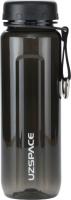 Бутылка для воды UZSpace Tritan Outdoor / 6002 (500мл, черный) -