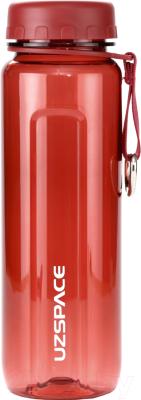 Бутылка для воды UZSpace Tritan Outdoor / 6002 (500мл, красный)