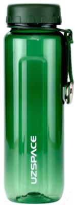 Бутылка для воды UZSpace Tritan Outdoor / 6002 (500мл, зеленый)