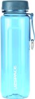 Бутылка для воды UZSpace Tritan Outdoor / 6002 (500мл, голубой) -