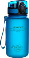 Бутылка для воды UZSpace Colorful Frosted / 3034 (350мл, синий) -