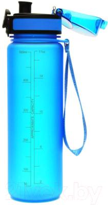 Бутылка для воды UZSpace Colorful Frosted / 3026 (500мл, голубой)
