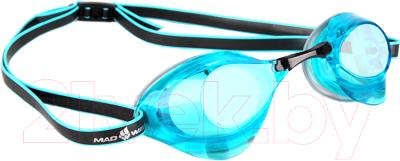 Очки для плавания Mad Wave Turbo Racer II очки для плавания mad wave turbo racer ii black orange