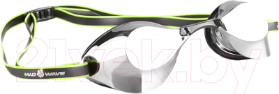 Очки для плавания Mad Wave Turbo Racer II Mirror очки для плавания mad wave turbo racer ii black orange