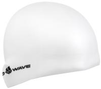 Шапочка для плавания Mad Wave Intensive BIG (белый) -