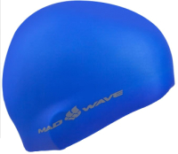 Шапочка для плавания Mad Wave Light BIG (синий) -