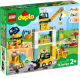Конструктор Lego Duplo Башенный кран на стройке 10933 -