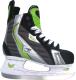 Коньки хоккейные Action Lucky PW-216AE (размер 38, черный/зеленый) -