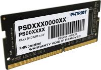 Оперативная память DDR4 Patriot PSD416G266681S -