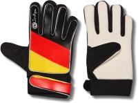 Перчатки вратарские Indigo 200023 (L, черный/красный/желтый) -